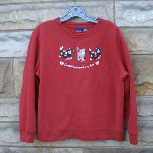 Cat Theme Grandkids Sweatshirt